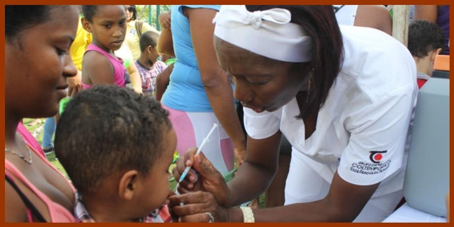 Padres de todo el Departamento de Bolívar, ¡a vacunar a sus niños contra el sarampión!