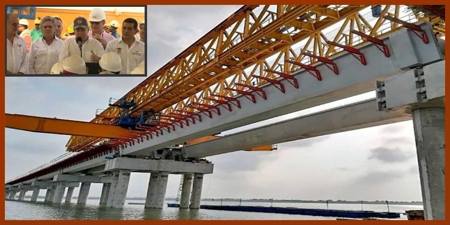 Cartagena y Barranquilla, 30 minutos más cerca gracias al Viaducto del Gran Manglar