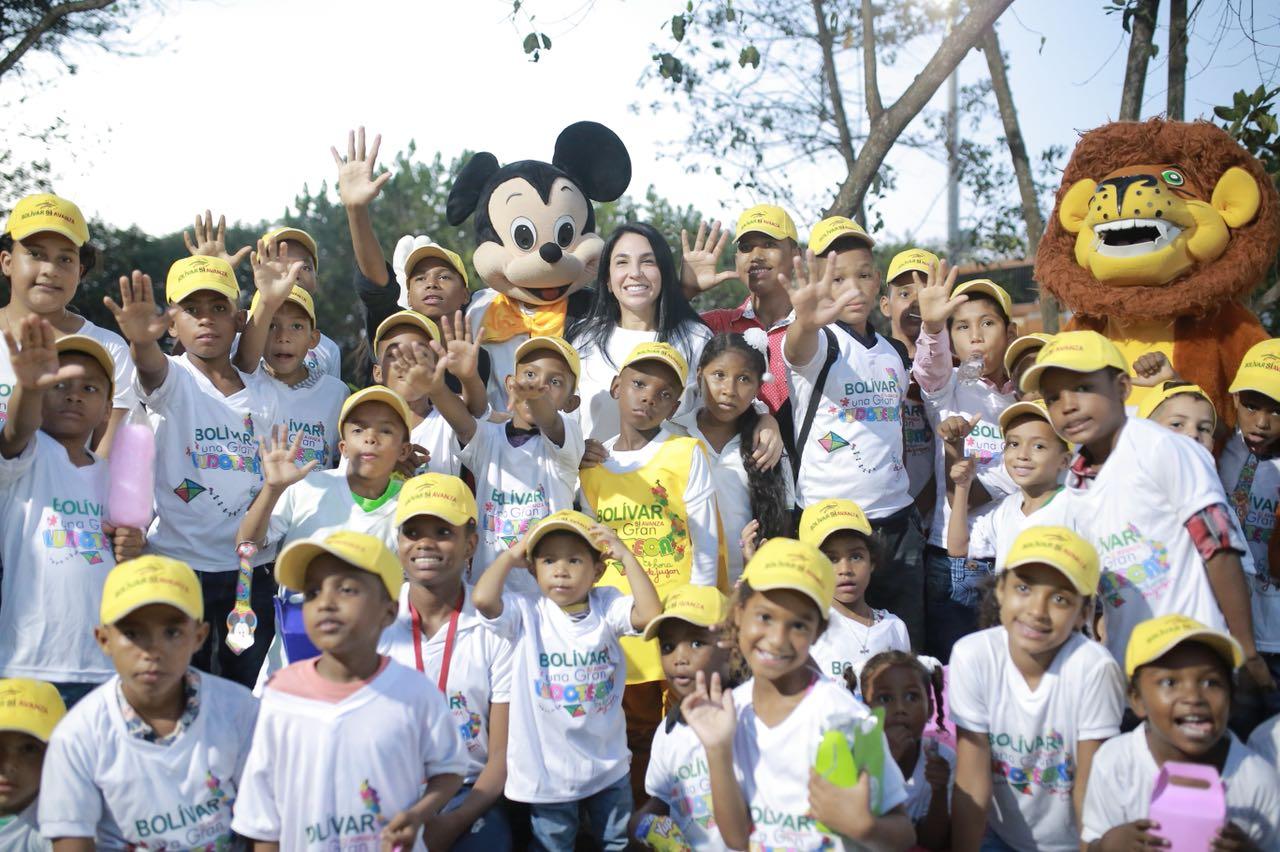 Más de 4.500 personas celebraron el Día de la Niñez en el Parque El Espíritu del Manglar