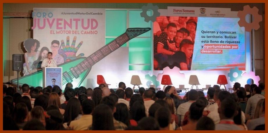 Durante foro 'Juventud, el motor del cambio', jóvenes le apuestan al emprendimiento