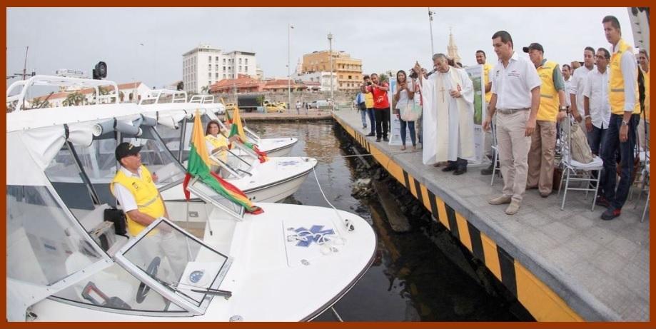 Gobernación entrega nueve ambulancias acuáticas para el sur de Bolívar
