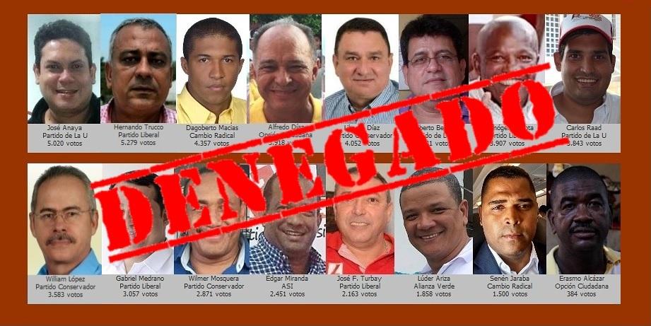 Quienes siguen en votos a concejales detenidos aún esperan un 'milagro judicial'