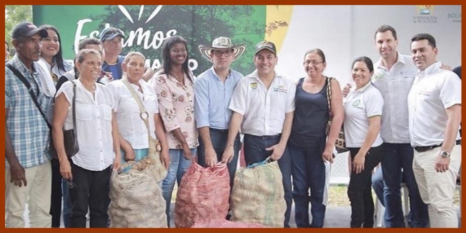 Gobiernos Nacional y Departamental impulsan proyectos productivos en los Montes de María