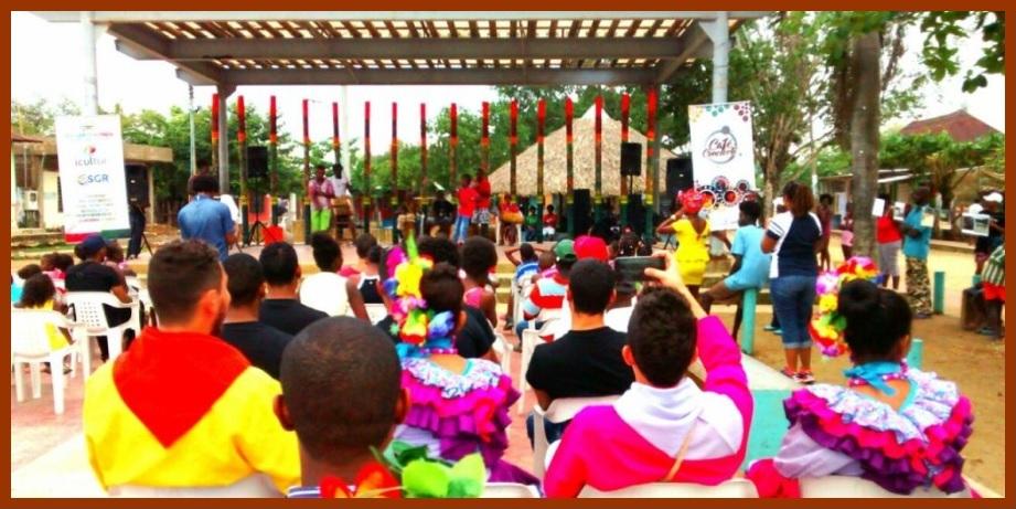 Café concierto en San Basilio de Palenque