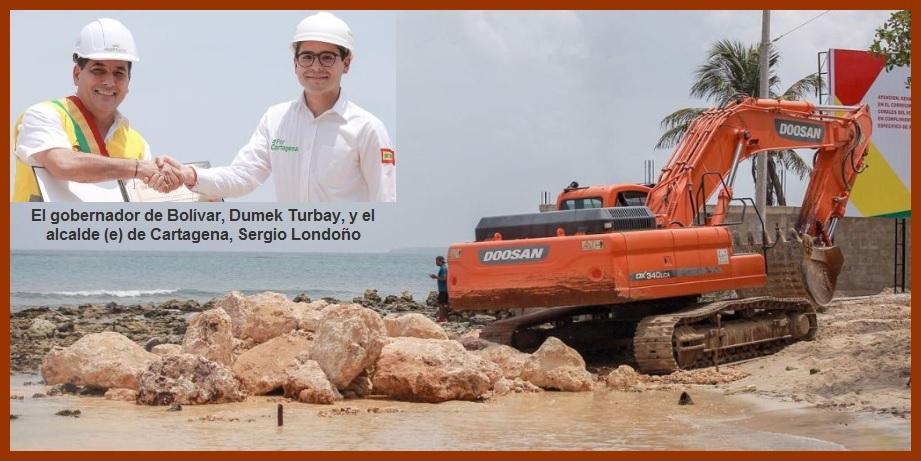 Por fin se inician obras de protección costera y ambiental de Playetas, en Barú