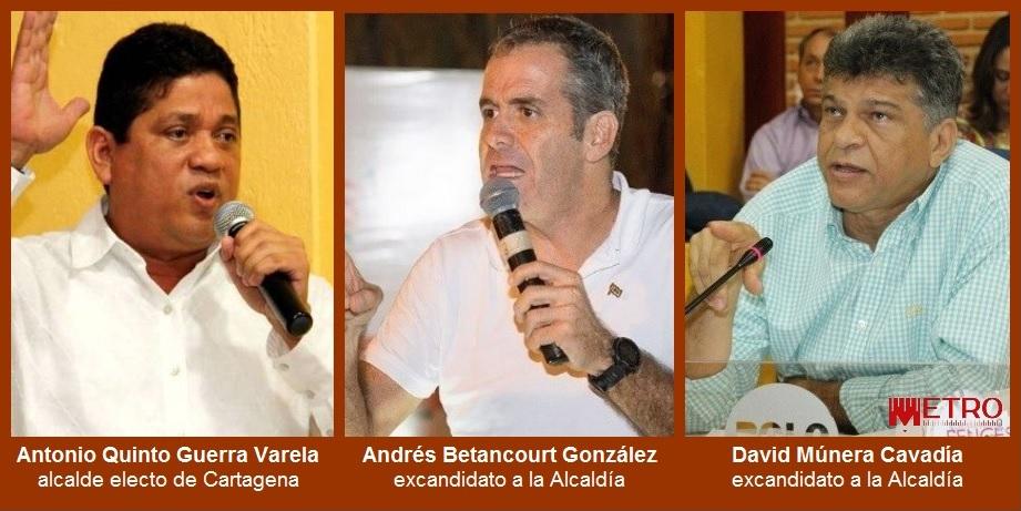 Betancourt y Múnera anuncian que ejercerán control político y social al gobierno de Guerra