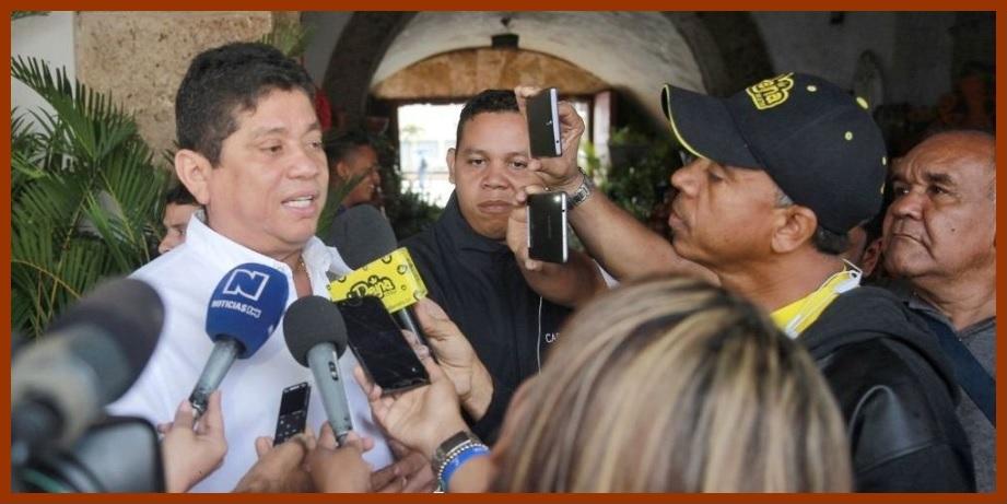 Quinto pide a medios nacionales, a los que dice no oir, que «vengan y ayuden a Cartagena»