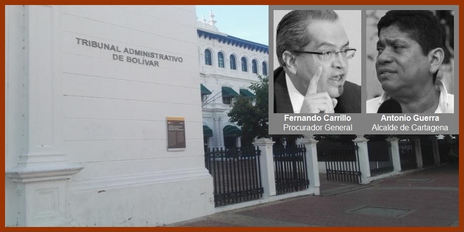 «Desde el viernes notificamos la suspensión del alcalde»: presidente del Tribunal Administrativo