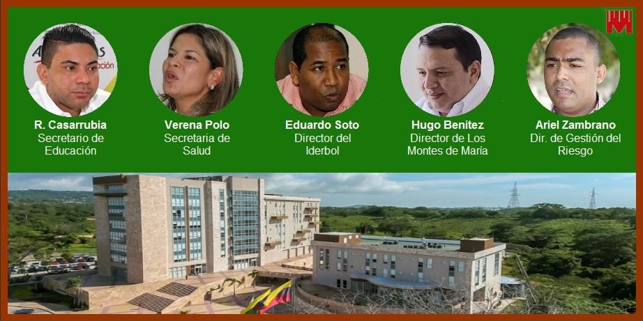 Tras múltiples renuncias, gobernador de Bolívar hace ajustes a su gabinete