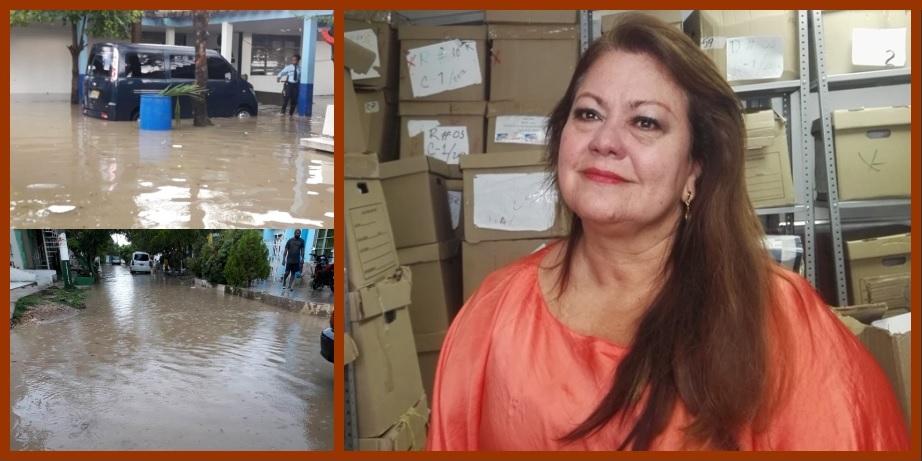 «El Sistema de Drenajes Pluviales sigue siendo una prioridad para el Distrito»: Clara Calderón