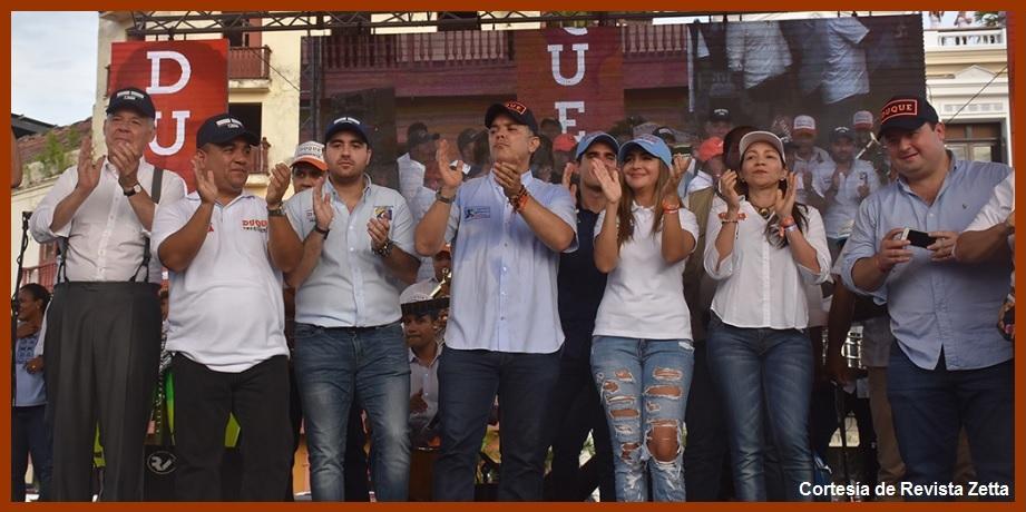 Dirigentes uribistas de Bolívar, a intentar que Duque no pierda otra vez en Cartagena