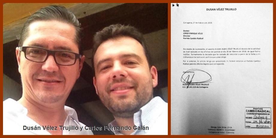 Dusán Vélez Trujillo, otro bolivarense que pudo ser senador y no fue