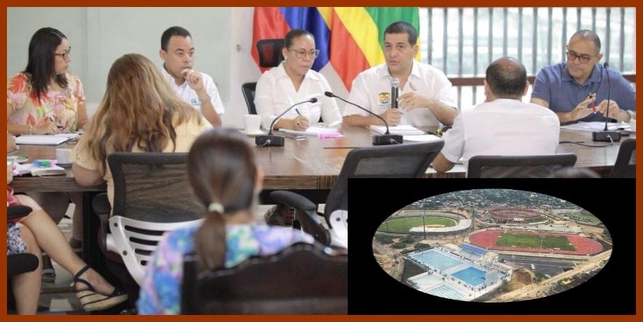 Los Juegos Nacionales del 2019 sí van, aseguran Dumek Turbay y Yolanda Wong