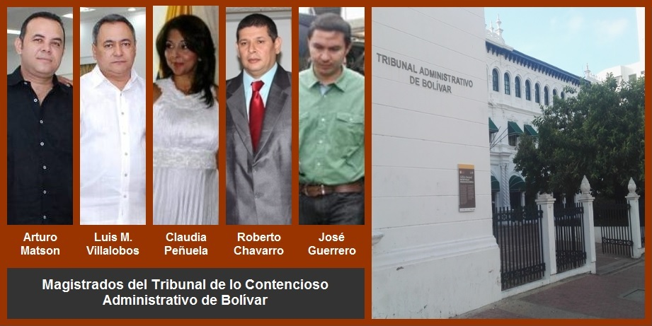 Cambios en el Tribunal Administrativo de Bolívar, ¿favorables a Quinto Guerra?