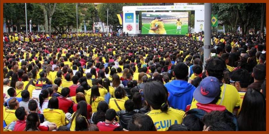 Cartageneros, a disfrutar del partido Colombia y Japón en pantalla gigante