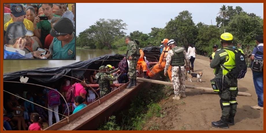 Los sureños ya saben qué hacer en caso de que estalle una emergencia en Hidroituango