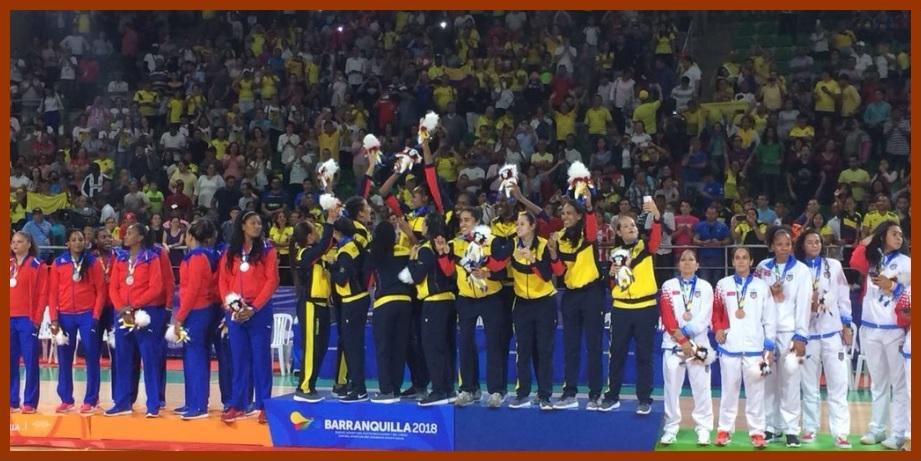 Un histórico oro en baloncesto, lo más destacado en el 6° día de #Barranquilla2018.