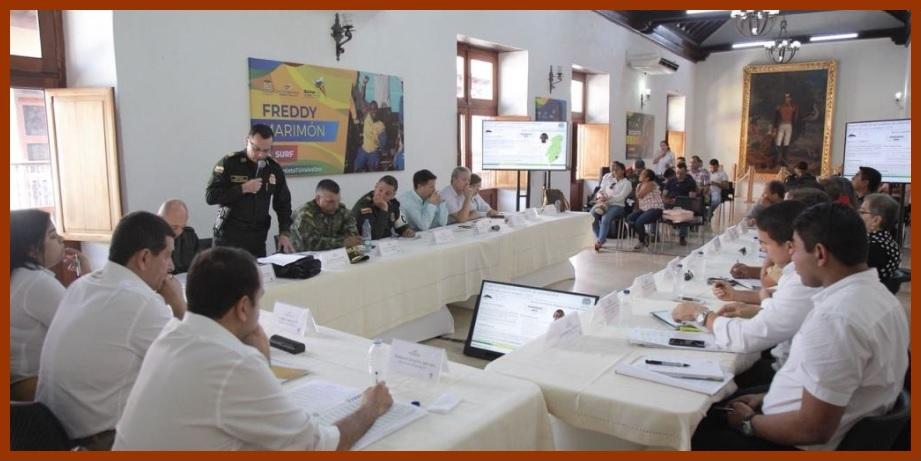 Consejo de Seguridad de Bolívar refuerza acciones para proteger la vida de los líderes
