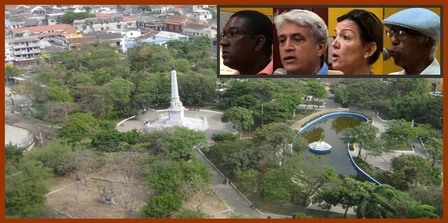 Concejo y comunidad piden acciones al Distrito para salvar el Parque del Centenario