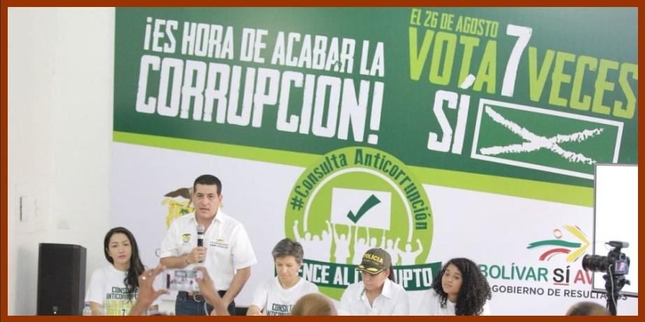 «Los colombianos quieren gobiernos decentes, por eso votaremos siete veces sí»: Turbay