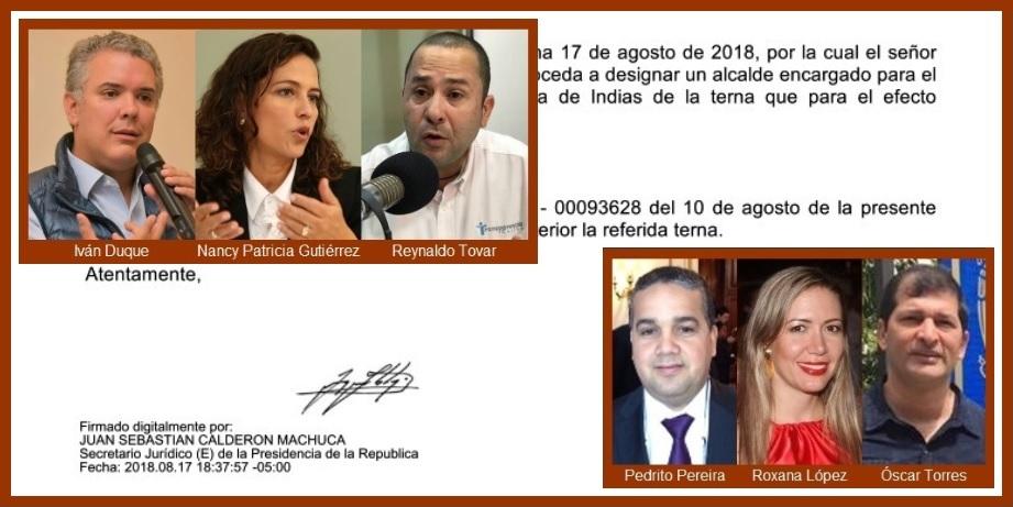 Carta de Transparencia Caribe activa proceso de designación de nuevo alcalde de Cartagena