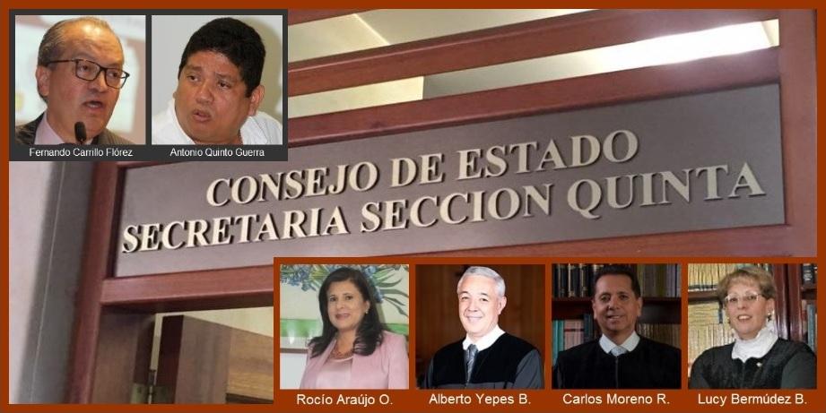 Estos son los magistrados que decidirían hoy el futuro inmediato de Cartagena
