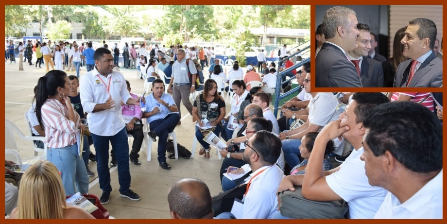 En Bolívar, todo listo para realización del taller 'Construyendo País' del presidente Duque
