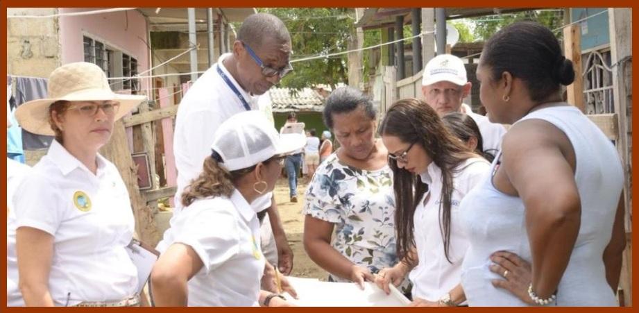 Corvivienda adelanta programa de titulación de viviendas en el barrio El Pozón