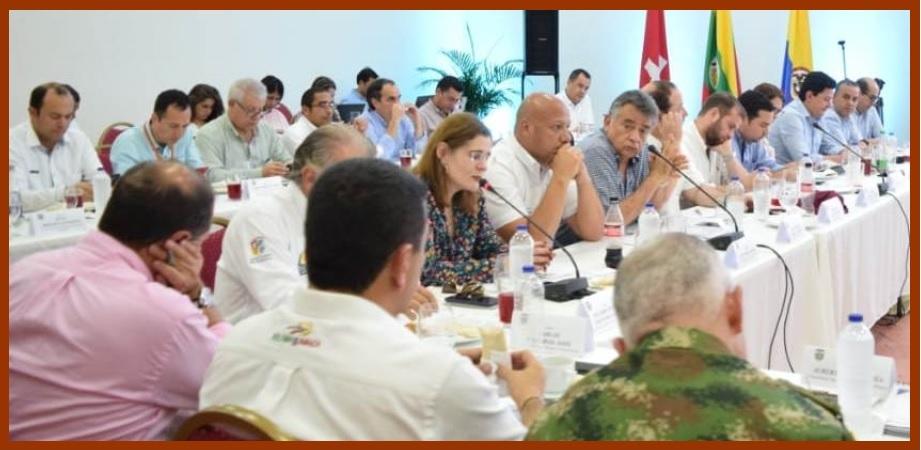 Cumbre Interdepartamental de Seguridad en Mompox, con resultados positivos para Bolívar