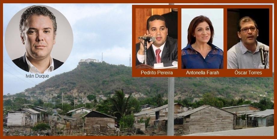 Pereira, Farah y Torres, a suscribir ante el presidente un compromiso con Cartagena