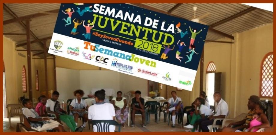 Jóvenes del norte de Bolívar, a visitar Arjona y participar en la Semana de la Juventud
