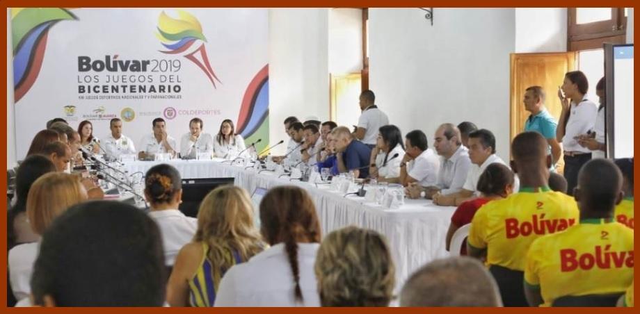Bolívar tendrá «unos Juegos sin precedentes en la historia de Colombia»: Coldeportes