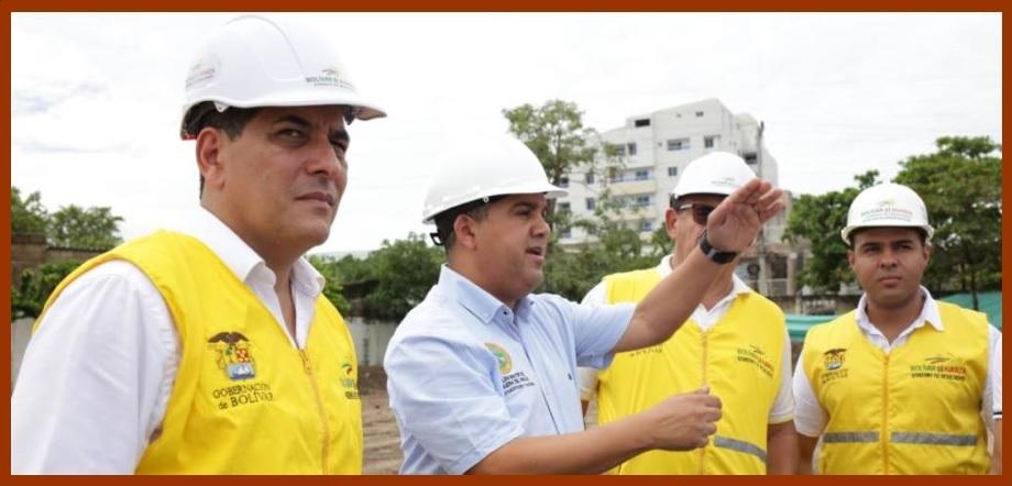 Alcalde y gobernador 'pasan revista' a obras en Los Calamares, Alameda La Victoria y Barú