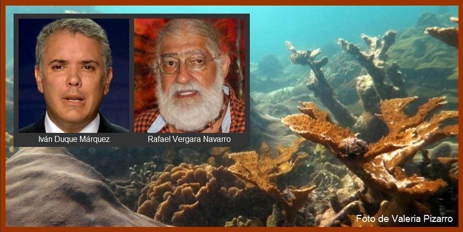 S.O.S. de Rafael Vergara a Iván Duque para que «impida un crimen de 'lesa oceanidad'»