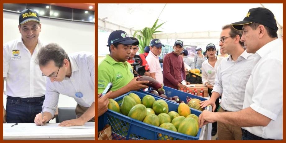 «Con el 'Taller del Campo', hoy es un día feliz para el agro bolivarense»: Dumek Turbay