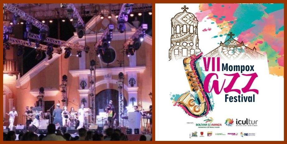 Todo listo para que se abra, durante cinco días, el telón del VII Mompox Jazz Festival