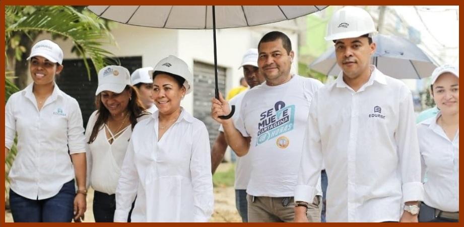 Alcaldesa (e) y gerente de Edurbe defienden modelo de contratación de la empresa