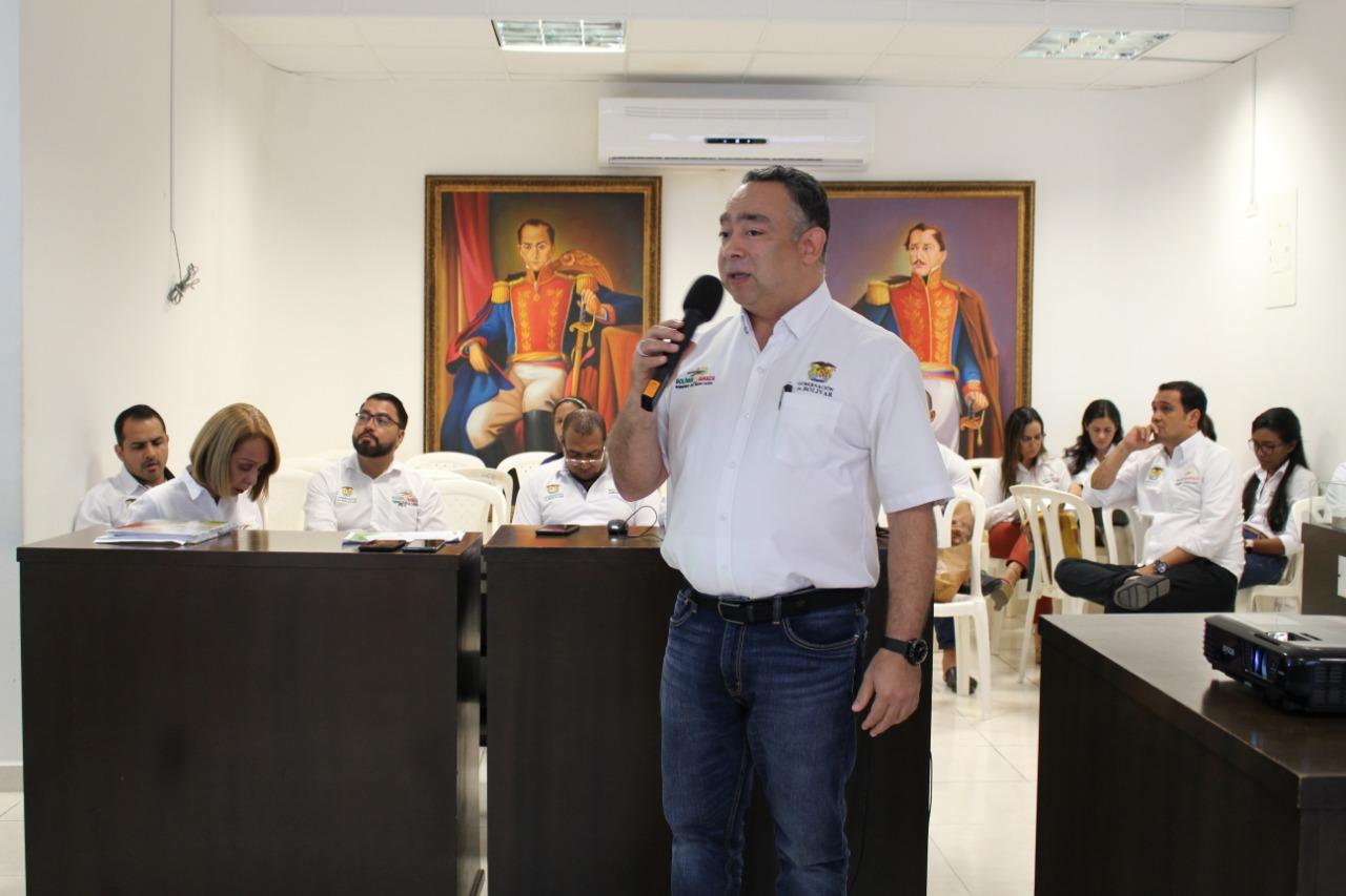 Aguas de Bolívar, Desarrollo Regional y Gestión Social presentaron el presupuesto de 2019