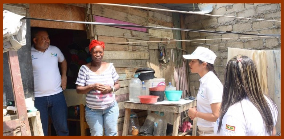 Corvivienda realiza caracterización para censo cualitativo y cuantitativo en Henequén