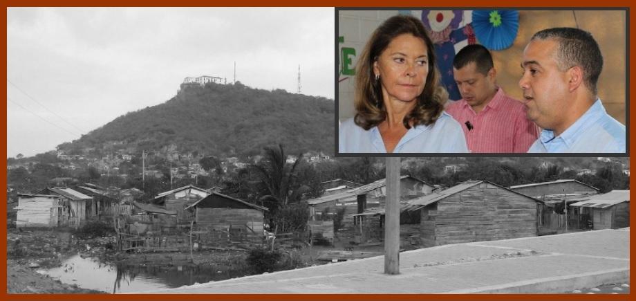Vicepresidenta de la República, presente en acciones para combatir pobreza en Cartagena