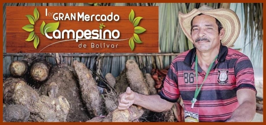 Residentes y visitantes, ¡a disfrutar del Primer Gran Mercado Campesino 'Bolívar Sí Avanza'!