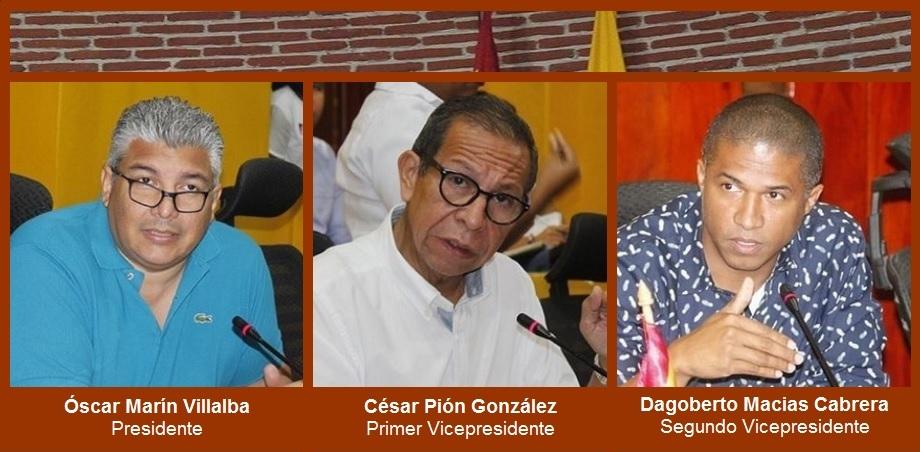 En medio de ruidos y tropiezos, Concejo de Cartagena eligió ayer su nueva Mesa Directiva