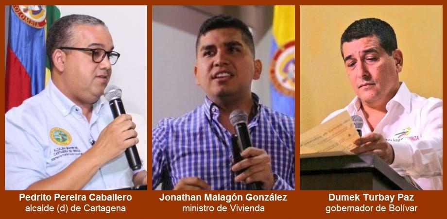 La Nación, el Departamento y el Distrito, con buenas nuevas durante el 'Foro pro Cartagena'