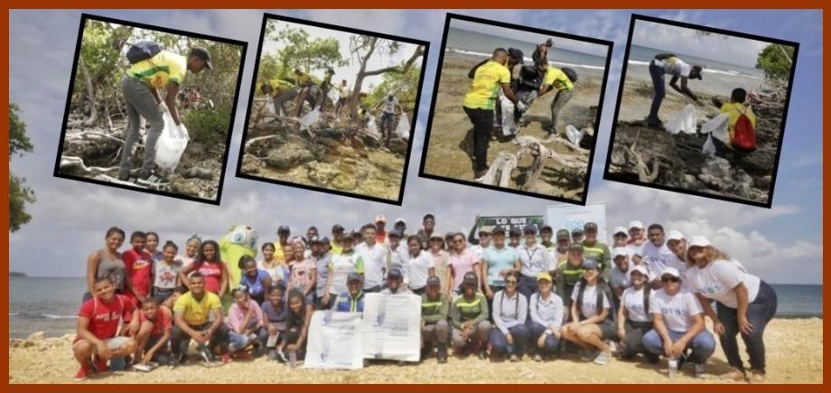 Gobernación concientiza sobre necesidad de mantener limpia la Vía a Playetas, en Barú