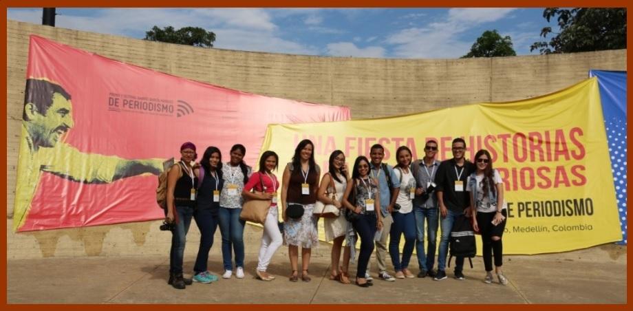 Gracias a la FNPI y a la UTB, 56 estudiantes de Comunicación Social cubrirán #FestiGabo2018