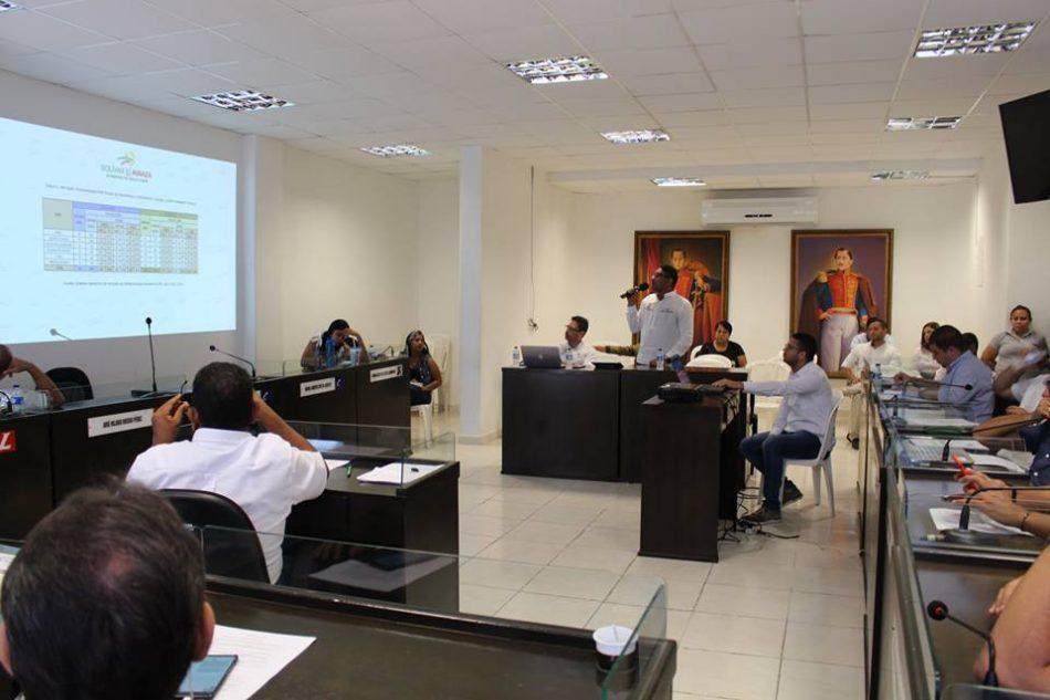 Asamblea de Bolívar realizó el debate de control político a la secretaría de Educación