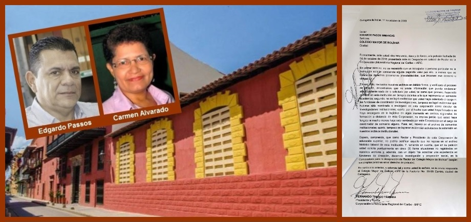 Elección de rector del Colegio Mayor de Bolívar, otra vez en medio de 'ruidos'