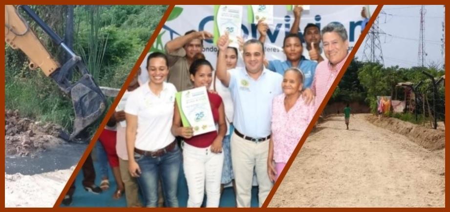Corvivienda adelanta aguinaldo a habitantes del Mirador de Cartagena y otros sectores