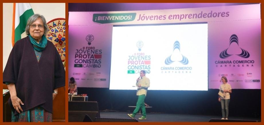 Hoy y mañana se realiza en Cartagena el tercer foro 'Jóvenes Protagonistas del Cambio'