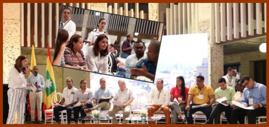 Comunales se hicieron sentir en el '2° Taller de Socialización del Pacto por Cartagena'